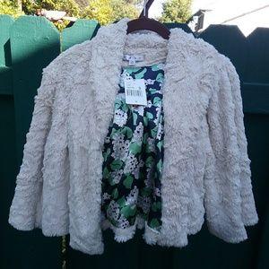 CAbi Alpine Shrug Plush Jacket NWT